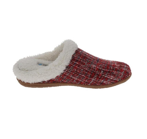 Foamtreads Slipper Red / 5 US / M (Medium) Foamtreads Womens Bella Slippers - Red