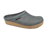Haflinger Slipper GZ14 Grey / 35 / M Haflinger Unisex Classic Grizzly Slippers GZ14 - Grey