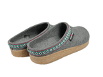 Haflinger Slipper Haflinger Unisex Classic Grizzly Slippers GZ14 - Grey