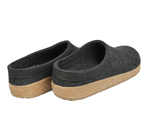 Haflinger Slipper Haflinger Unisex Grizzly Slippers GZL44 - Charcoal