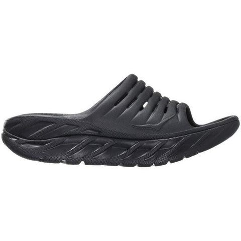 Hoka One One Sandals Black/Anthracite / 5 US / M Hoka One One Womens Ora Recovery Slides - Black/ Anthracite