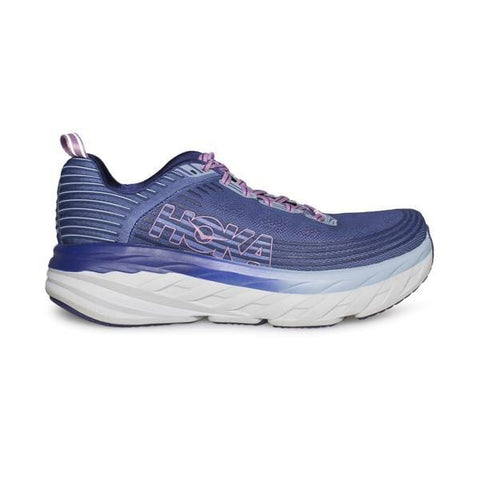 Hoka One One Shoe Marlin/Blue Ribbon / 5 / M Hoka One One Womens Bondi 6 Running Shoes - Marlin/Blue Ribbon