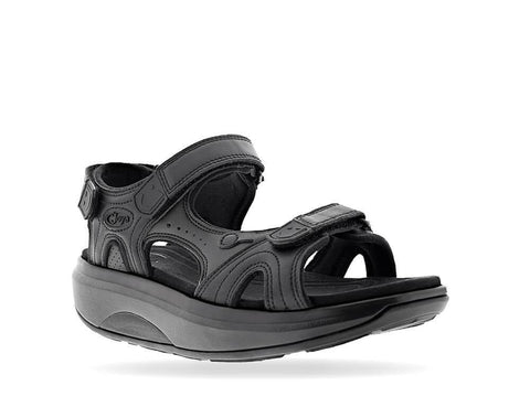 Joya Sandals Black / 35 EU / W Joya Womens ID Cairo II SR Leather Sandals (Wide) - Black