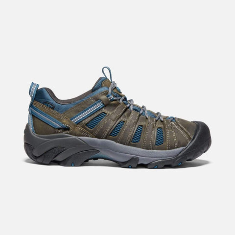 Keen Shoe Alcatraz/Legion Blue / 7 / M Keen Mens Voyageur Hiking Shoes - Alcatraz/ Legion Blue