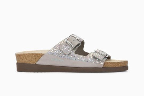 Mephisto Sandals EU 35 / US 5 / M / Light Grey Mephisto Womens Harmony Diams Sandals - Light Grey 6005N