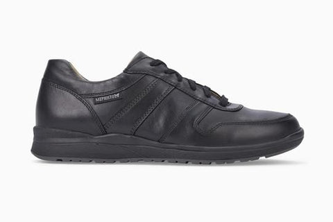 Mephisto Shoe Black / 5.5 EU 6 US / M Mephisto Mens Vito Lace Up Walking Shoes - Black 6100