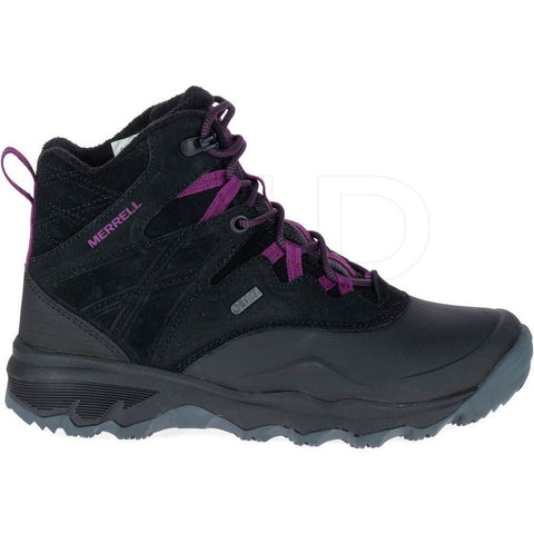 "Merrell Boots BLACK / 5 / M Merrell Womens Thermo Shiver 6"" Waterproof Hiking Boots - Black"