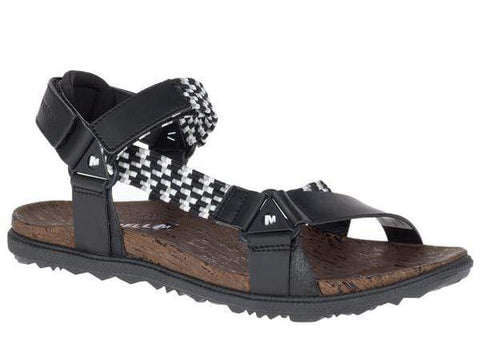 Merrell Sandals BLACK / 5 / M Merrell Womens Around Town Sunvue Woven Sandals - Black