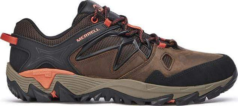 Merrell Shoe CLAY / 5 / M Merrell Mens All Out Blaze 2 Hiking Shoes - Clay/ Orange