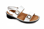 NAOT Sandals White Leather / 35 / M Naot Womens Soprano Sandals - White Leather