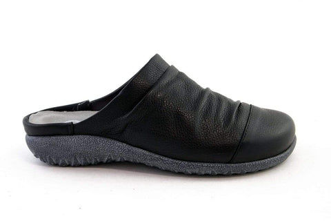 NAOT Shoe Soft Black Leather / 35 / M Naot Womens Paretao Mules - Soft Black Leather