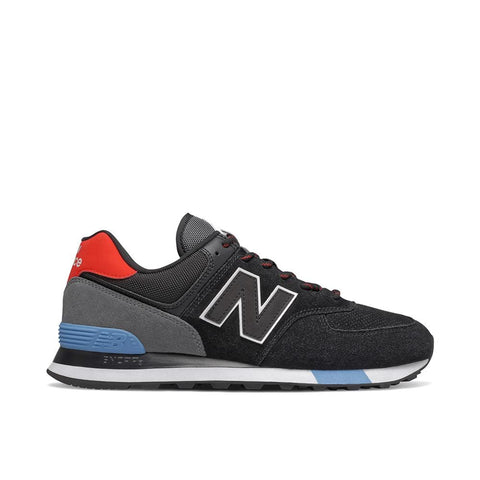 New Balance Shoe Black / 8 US / 2E NB Mens 574 Classic Sneakers - Black