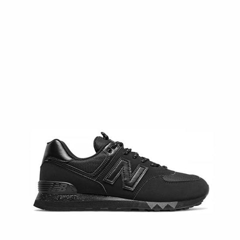 New Balance Shoe Black with Gunmetal / 9 US / 2E NB Mens 574 Classic Sneakers - Black/ Gunmetal