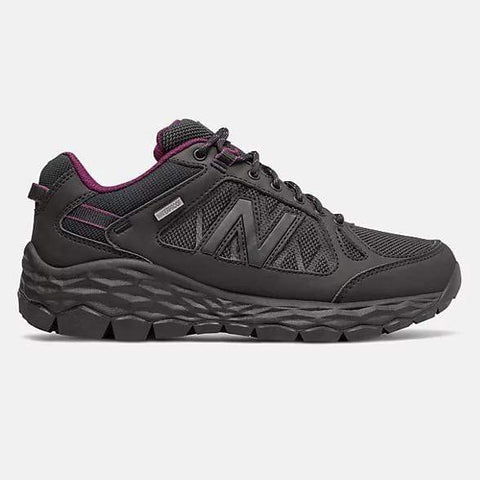 New Balance Shoe Black with Silver / 5 US / B (Standard) NB Womens 1350 Fresh Foam Walking Shoes - Black / Silver