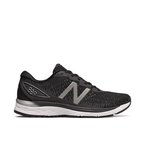 New Balance Shoe Black with Steel & Orca / 7 / 2E NB Mens 880v9 Running Shoes - Black/ Steel/ Orca