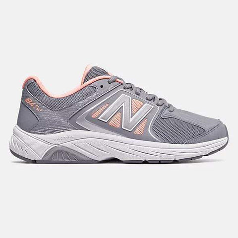NB Womens 847v3 Walking Shoes - Grey/ Pink - Sole To Soul Footwear Inc.