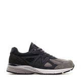 New Balance Shoe Grey with Black / 7 / D NB Mens 990v4 Running Shoes - Grey/Black
