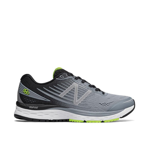 NB Mens 880v8 Running Shoes - Grey/Yellow - Sole To Soul Footwear Inc.