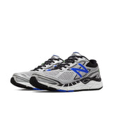 New Balance Shoe NB Mens 840v3 Running Shoes - Silver/ Blue