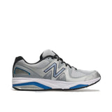 New Balance Shoe Silver with Blue / 7.5 / 2E NB Mens 1540v2 Running Shoes - Silver/ Blue