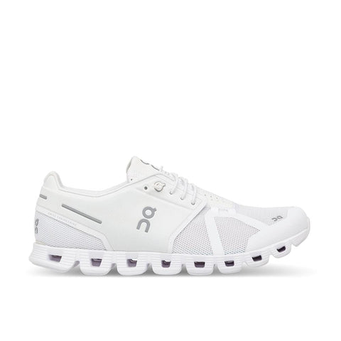 On Shoe All White / 5 / M On Running Womens Cloud Running Shoes - All White