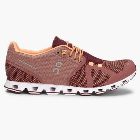 On Shoe Dustrose/Mulberry / 5 / M On Running Womens Cloud Running Shoes - Dustrose/Mulberry
