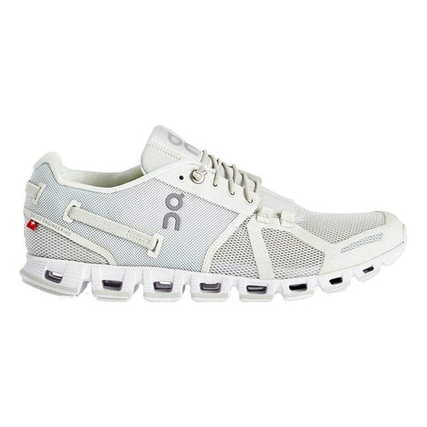 On Shoe Ice/White / 5 / M On Running Womens Cloud Running Shoes - Ice/White