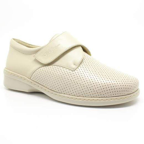 Portofino Shoe Beige / 35 / M Portofino Womens Perforated Stretch Shoes - Sand