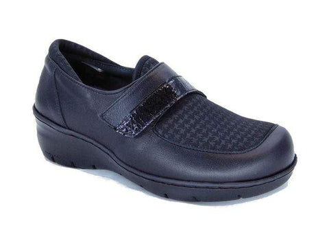 Portofino Shoe Nero (Black) / 35 / M Portofino Womens Soft Oxford - Nero/ Houndstooth