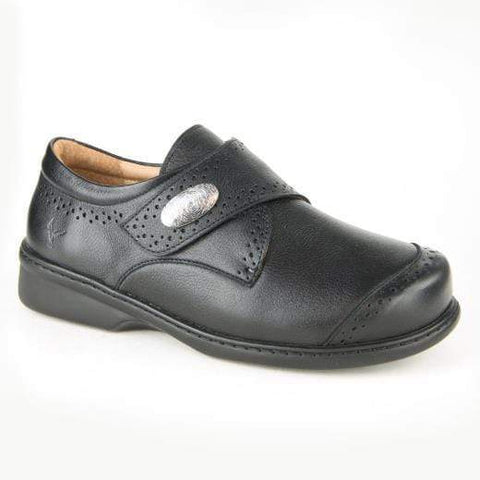 Portofino Shoe Portofino Womens Velcro Dress Shoes - Nero Stretch