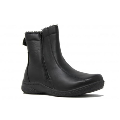 Propet Boots BLACK / 5 / 2E(X) Propet Womens Hope Boots (Wide 2E) - Black