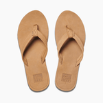 Reef Sandals Reef Womens Reef Voyage Lite Leather Sandals - Tobacco