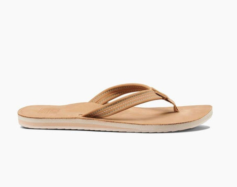 Reef Sandals Tobacco / 6 / Regular Reef Womens Reef Voyage Lite Leather Sandals - Tobacco