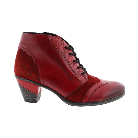 Remonte Boots Red / 35 / M Remonte Womens Dress Boots - Red