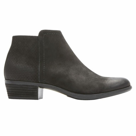 Rockport Boots BLACK / 5 / M Rockport Womens Vanna 2-Part Booties - Black