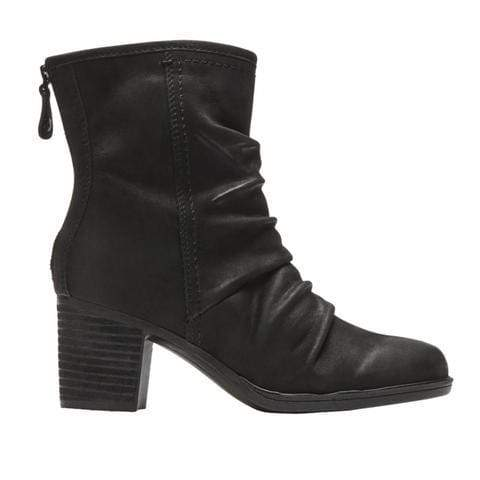 Rockport Boots BLACK NBK / 5 / M Rockport Womens Cobb Hill Natashya Slouch Mid Boots - Black
