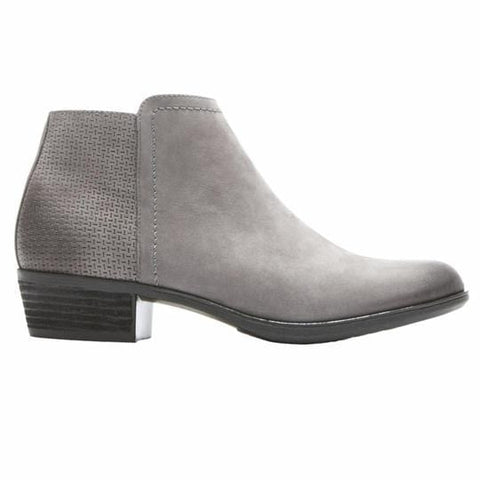 Rockport Boots DARK GREY / 5 / M Rockport Womens Vanna 2-Part Booties - Dark Grey