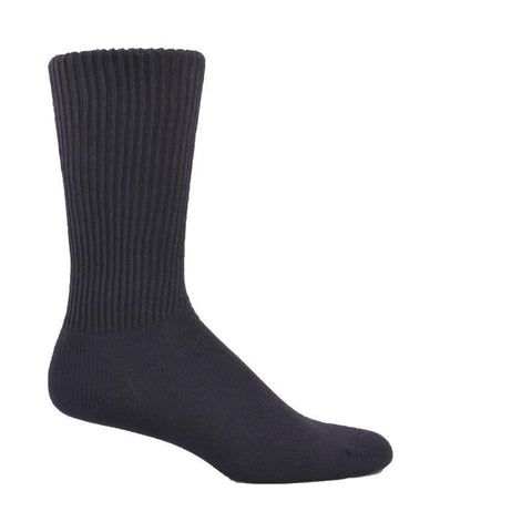 Simcan Socks Black / S Simcan Unisex Comfort Diabetic Mid-Calf Socks - Black (1 pair)