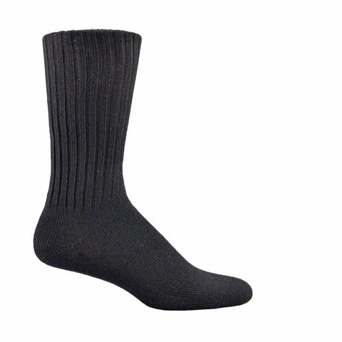 Simcan Socks Black / Small Simcan Unisex Easy Comfort Diabetic Mid-Calf Socks - Black (1 pair)