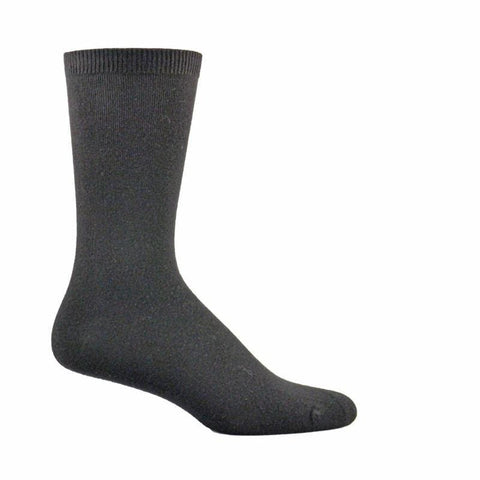 Simcan Socks Black / Small Simcan Unisex NaturWells Diabetic Mid-Calf Socks (Sensitive Feet) - Black (1 pair)