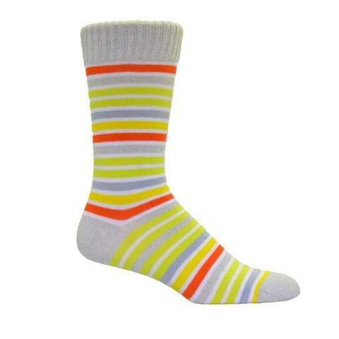 Simcan Socks Muslin / Small Simcan Unisex Color Series Kaleidoscope Socks - Muslin (1 pair)