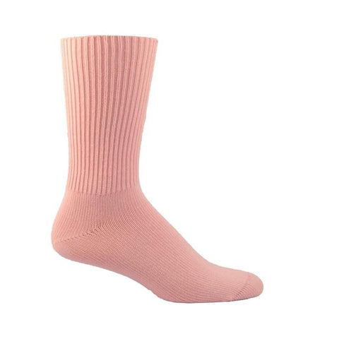 Simcan Socks Pink / Small Simcan Womens Comfort Diabetic Mid-Calf Socks - Pink (1 pair)