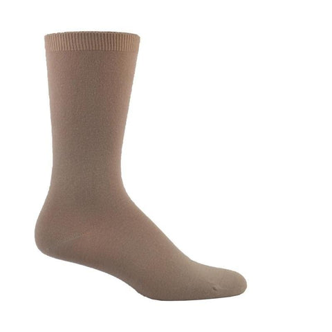Simcan Socks Sand / S Simcan Unisex Natur-Wells Diabetic Mid-Calf Socks (Sensitive Feet) - Sand (1 pair)