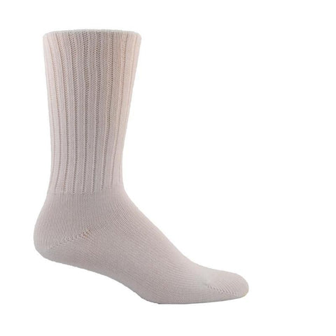 Simcan Socks White / Small Simcan Unisex Easy Comfort Diabetic Mid-Calf Socks - White (1pair)