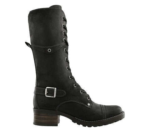 Taos Boots Black Oiled / 5 / M Taos Womens Tall Crave Boots - Rugged Black
