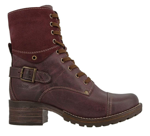 Taos Boots Bordeaux / 5 / M Taos Womens Low Crave Boots - Bordeaux