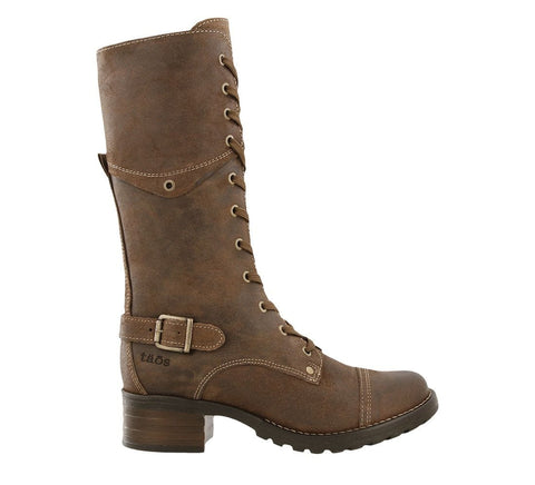 Taos Boots Taupe Rugged / 5 / M Taos Womens Tall Crave Boots - Rugged Taupe