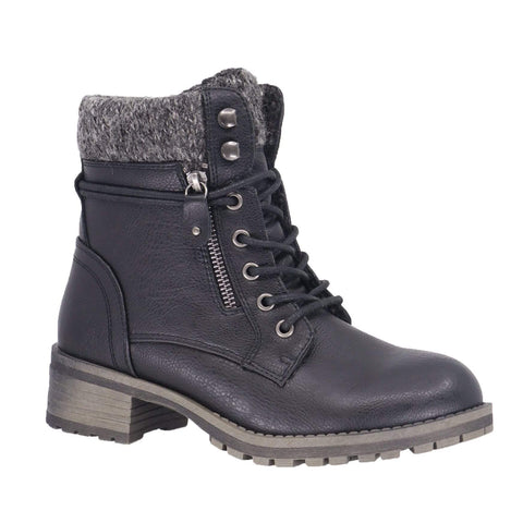 TAXI Boots 35 / M / Black Taxi  Womens Kennedy Boots - Black