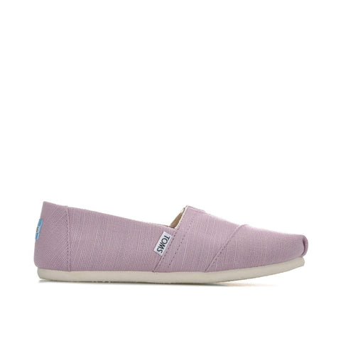 TOMS Shoe Soft Lilac Heritage Canvas / 5 US / M (Medium) Toms Womens Classic Alpargatas - Soft Lilac Heritage Canvas