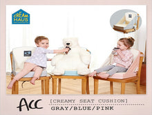 Load image into Gallery viewer, Creamy Seat Cushion Plus - Pink/Grey/Blue